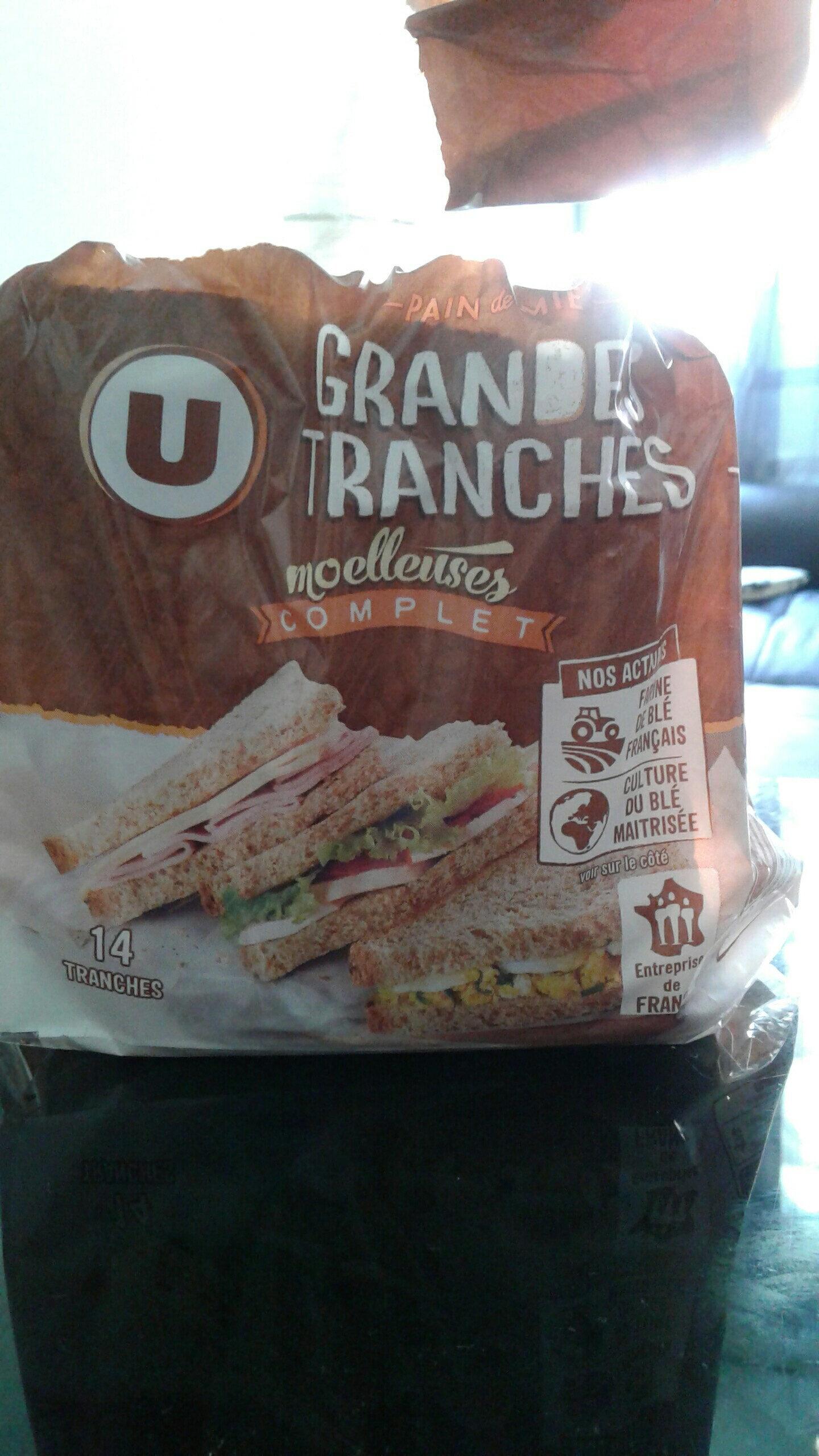 pain de mie grandes tranches - Product