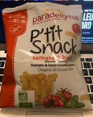 P'tit snack tomate basilic - Produit - fr
