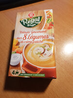 velouté Gourmand aux 8 légumes et crème fraîche - Product - fr