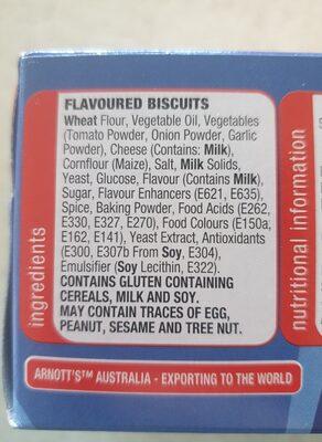 shapes - Ingredients - en