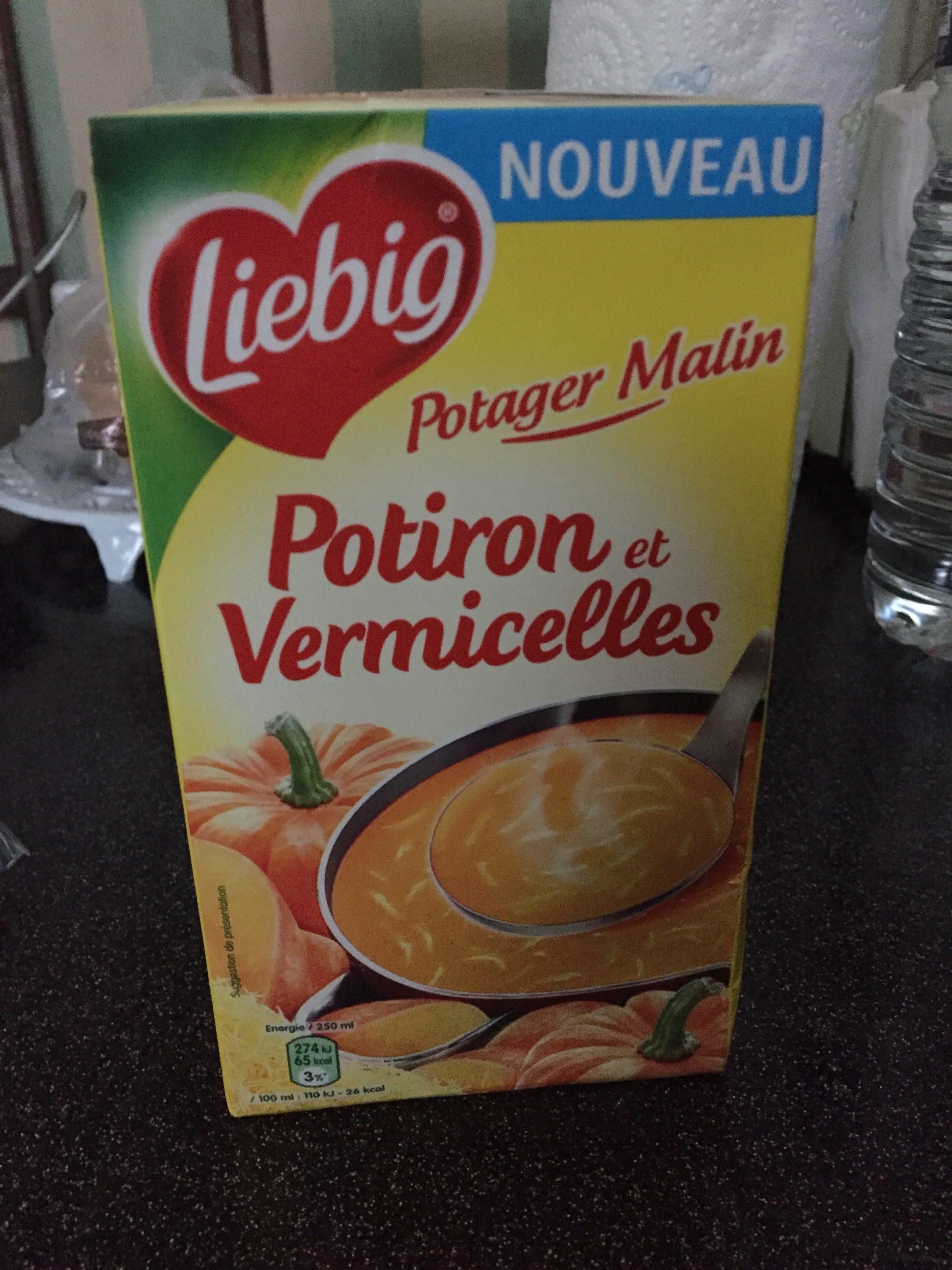 Potiron et vermicelles - Product - fr