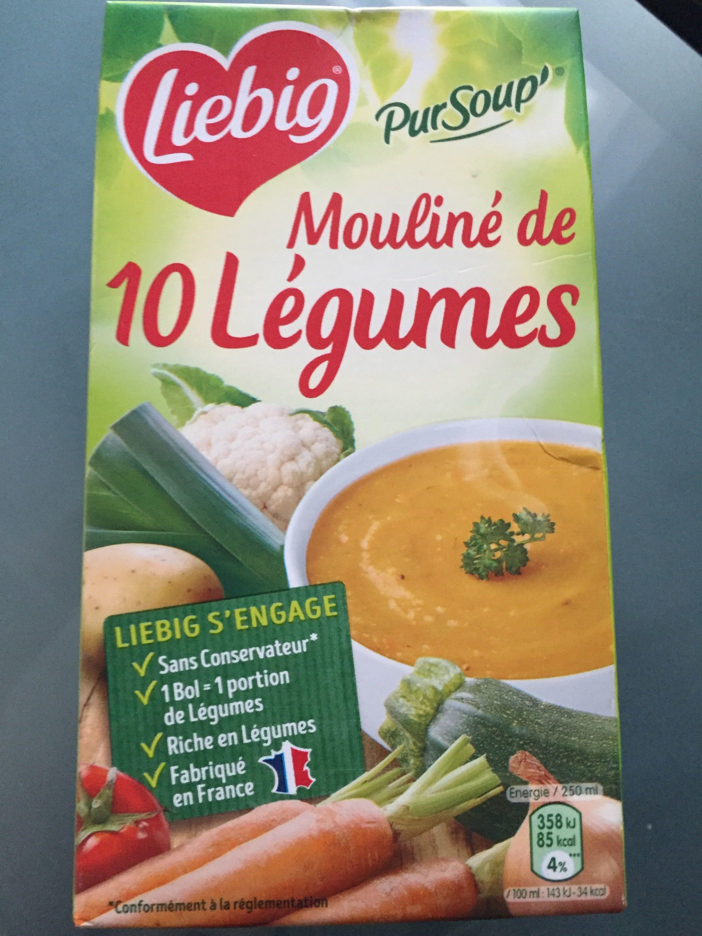 Mouliné de 10 légumes - Produit - fr