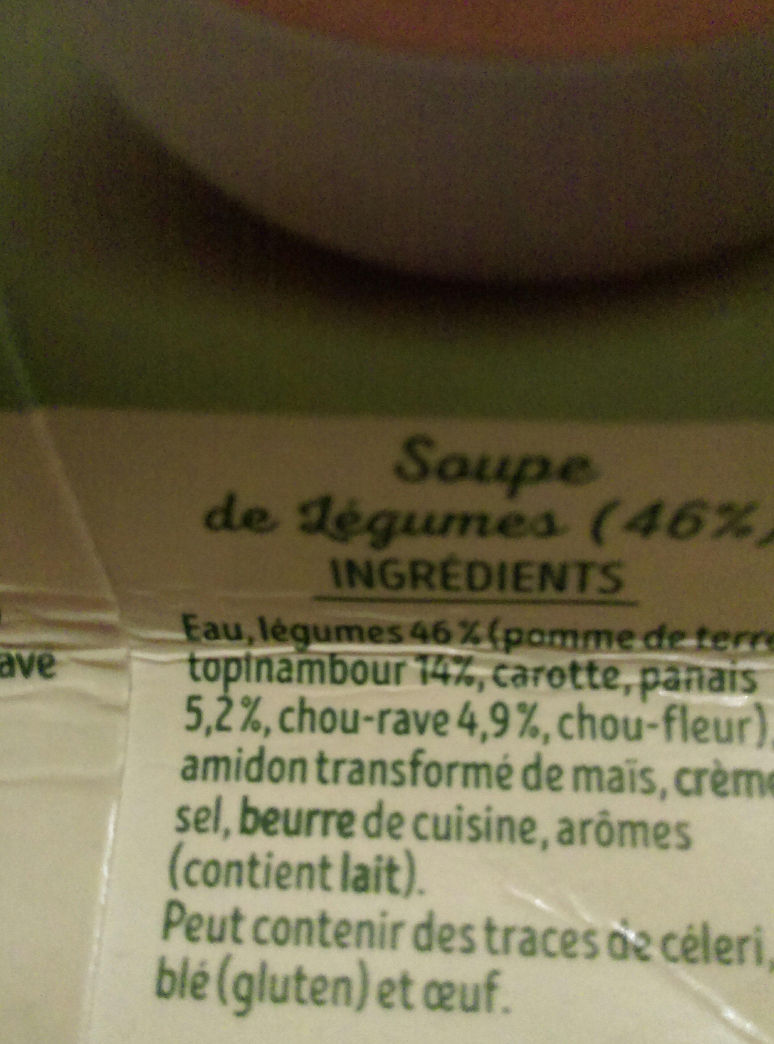 mouliné  légumes d'autrefois - Ingredients - fr