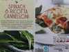 Spinach and Ricotta Cannelloni - Product