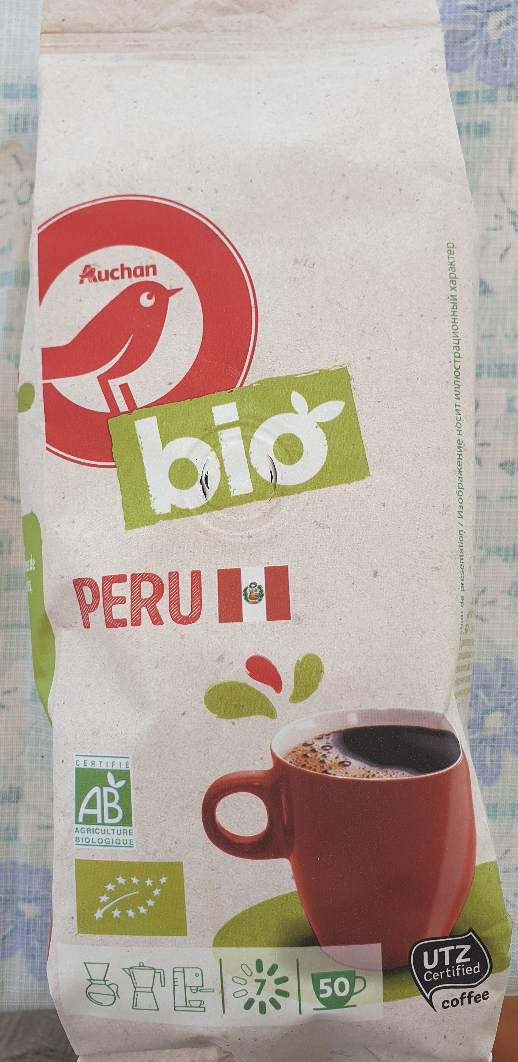 Café PERU Bio - Produit - fr