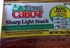 Sharp Light Snack Natural Vermont Cheddar Cheese - 产品