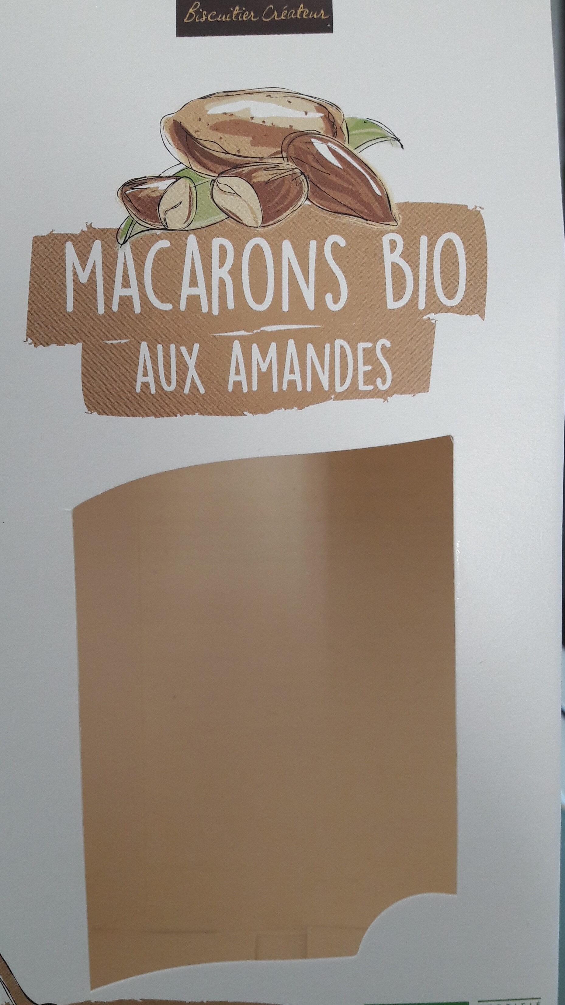 Macarons bio aux amandes - Produit - fr