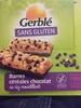 Barres céréales chocolat sans gluten - Product
