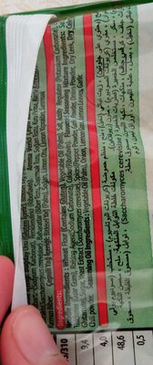 obamie vegetable flavored noodle - İçindekiler - en