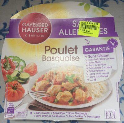 Poulet basquaise - Produit