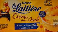 Crème aux oeufs - Produit