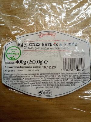 RACLETTES NATURE & FUMÉE - Produit - fr