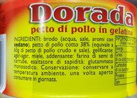 Dorada - Ingredients - it