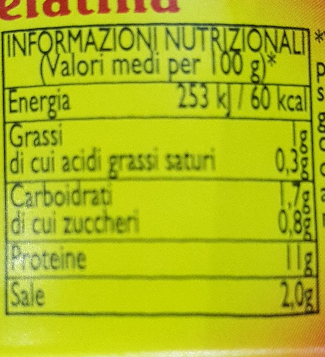 Dorada - Nutrition facts - it