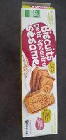 Biscuits petit épeautre sésame - Product - fr
