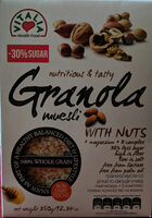 Granola muesli with nuts + magnesium + B complex - Product