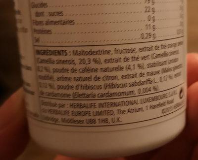 Boisson instantanée à base de thé - Ingredients - fr