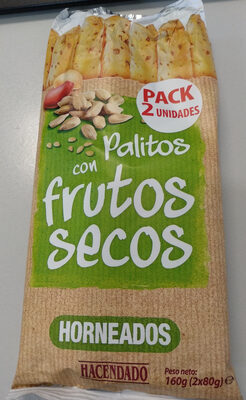 Palitos con frutos secos - Producte - es