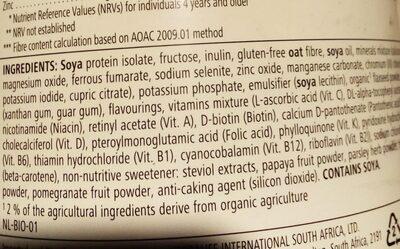 vanilla cream - Ingredients - en