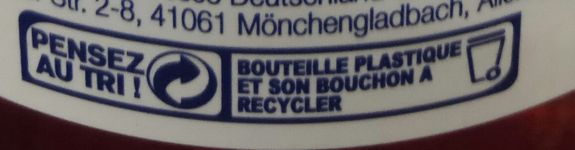 Cranberry - Recycling instructions and/or packaging information - fr