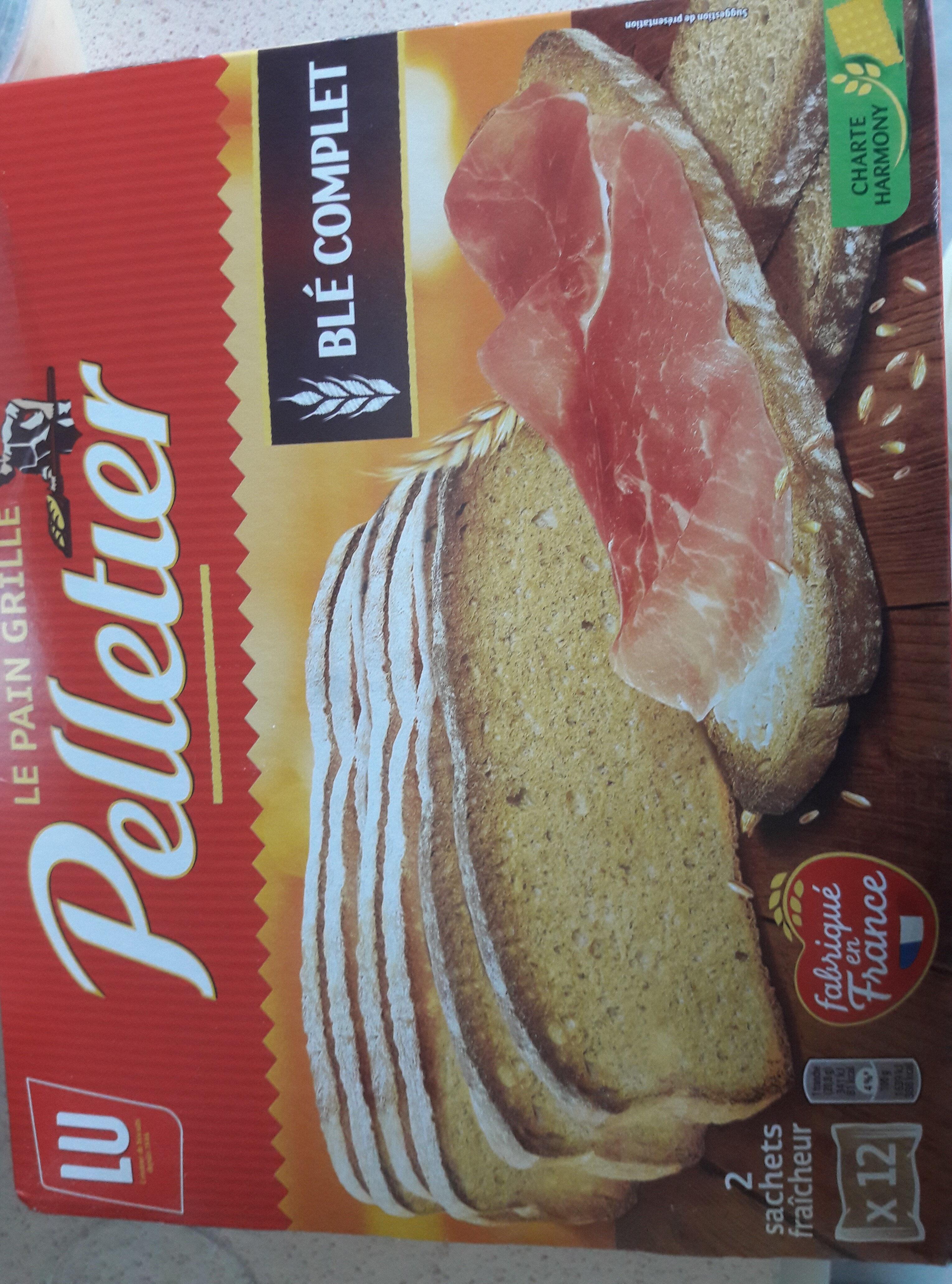 le pain grillé - Produit - fr
