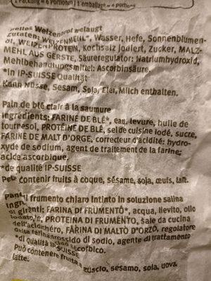 Silserkranz - Ingredienti - de