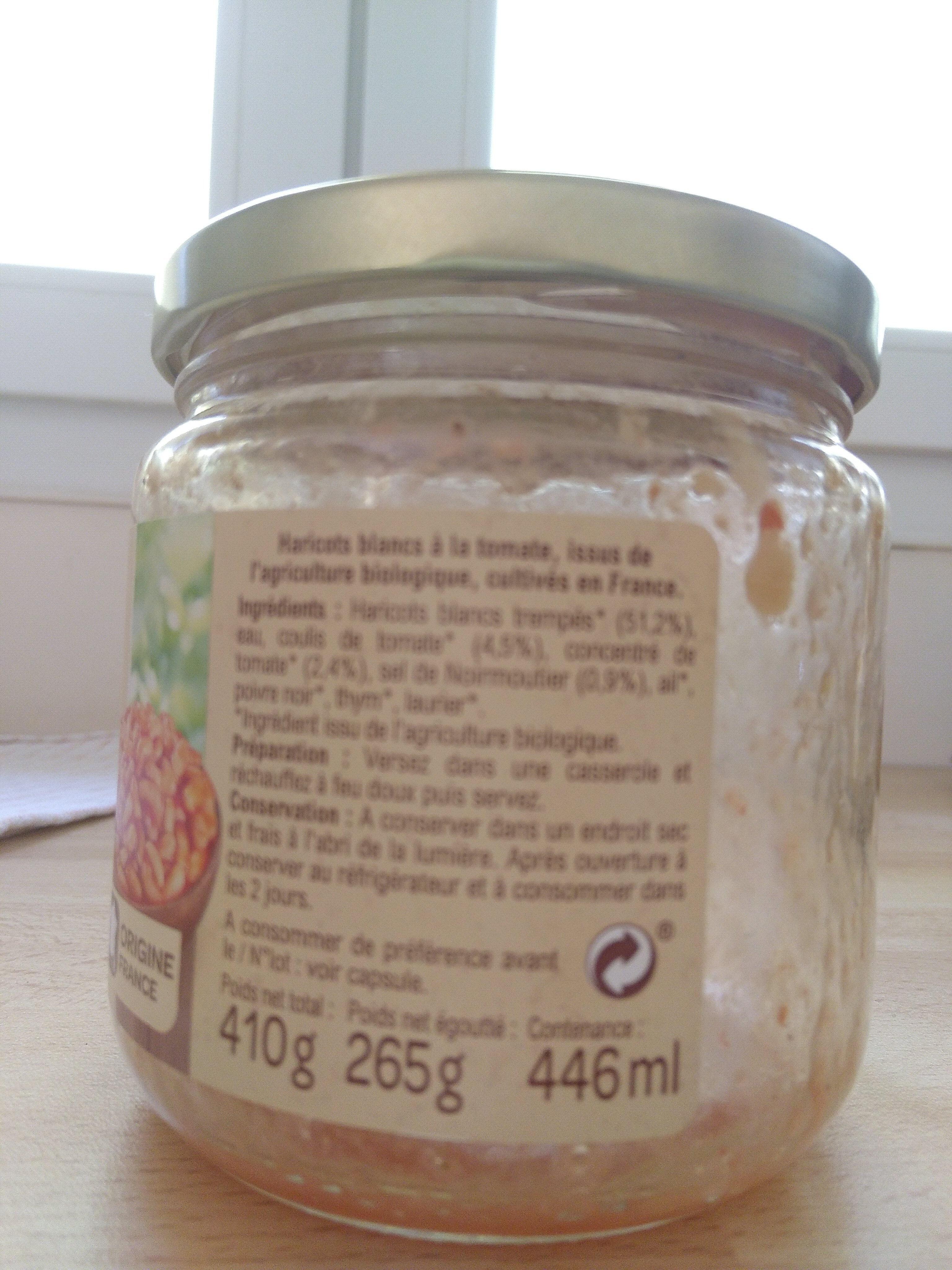 Haricots blancs à la tomate - Prodotto - fr