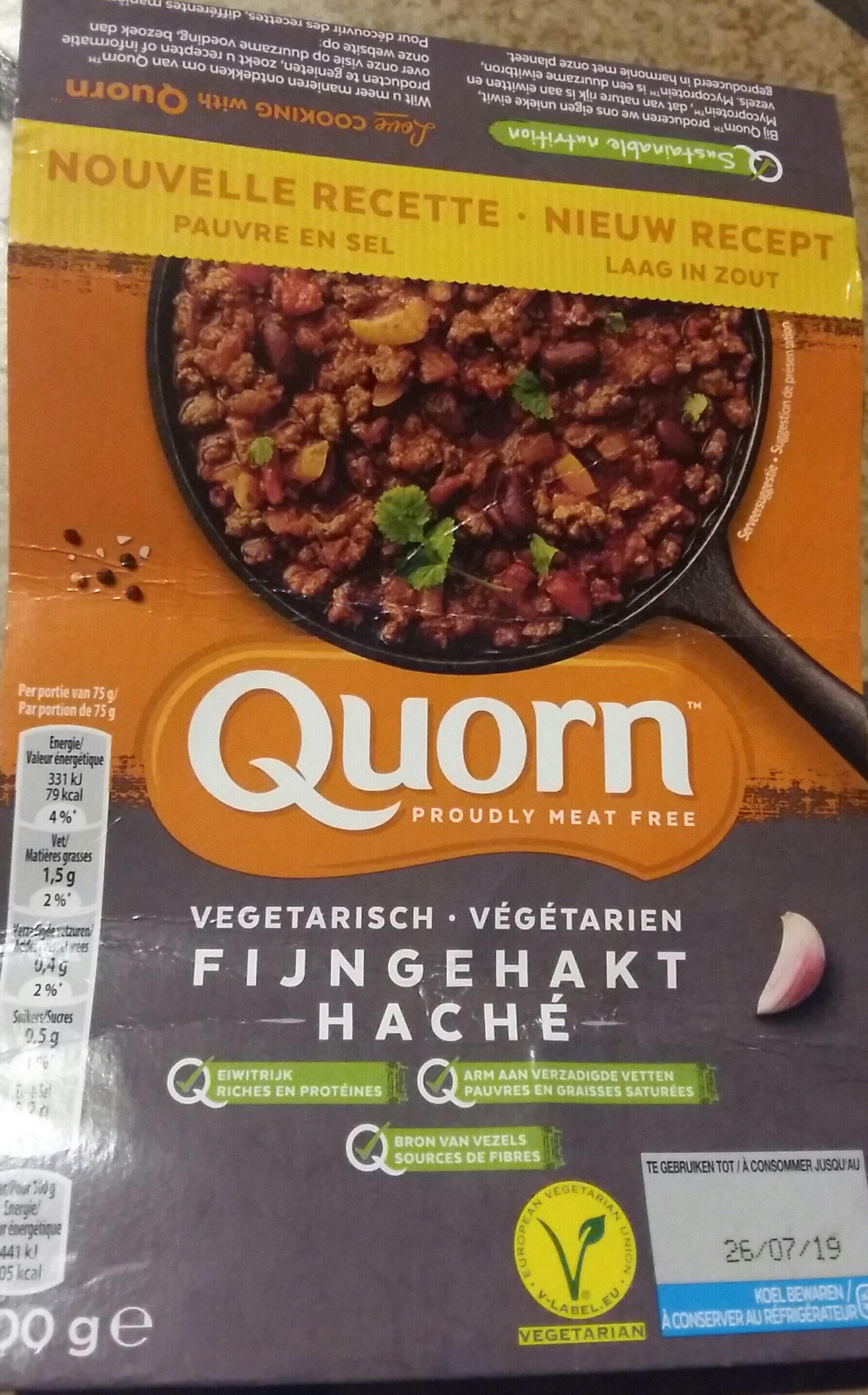 Haché végétarien - Product - fr