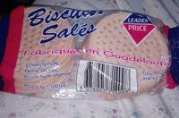 biscuits salés - Voedingswaarden - fr