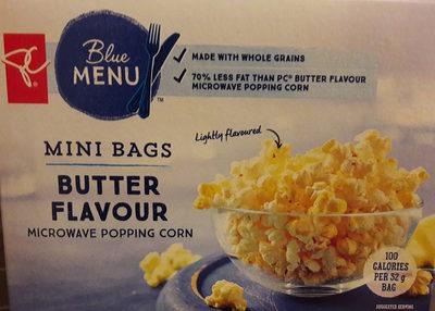 Maïs à éclater au micro-ondes arôme de beurre - Produit - fr
