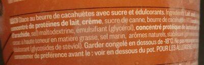 Peanut Butter Cup Ice Cream - Ingrédients - fr