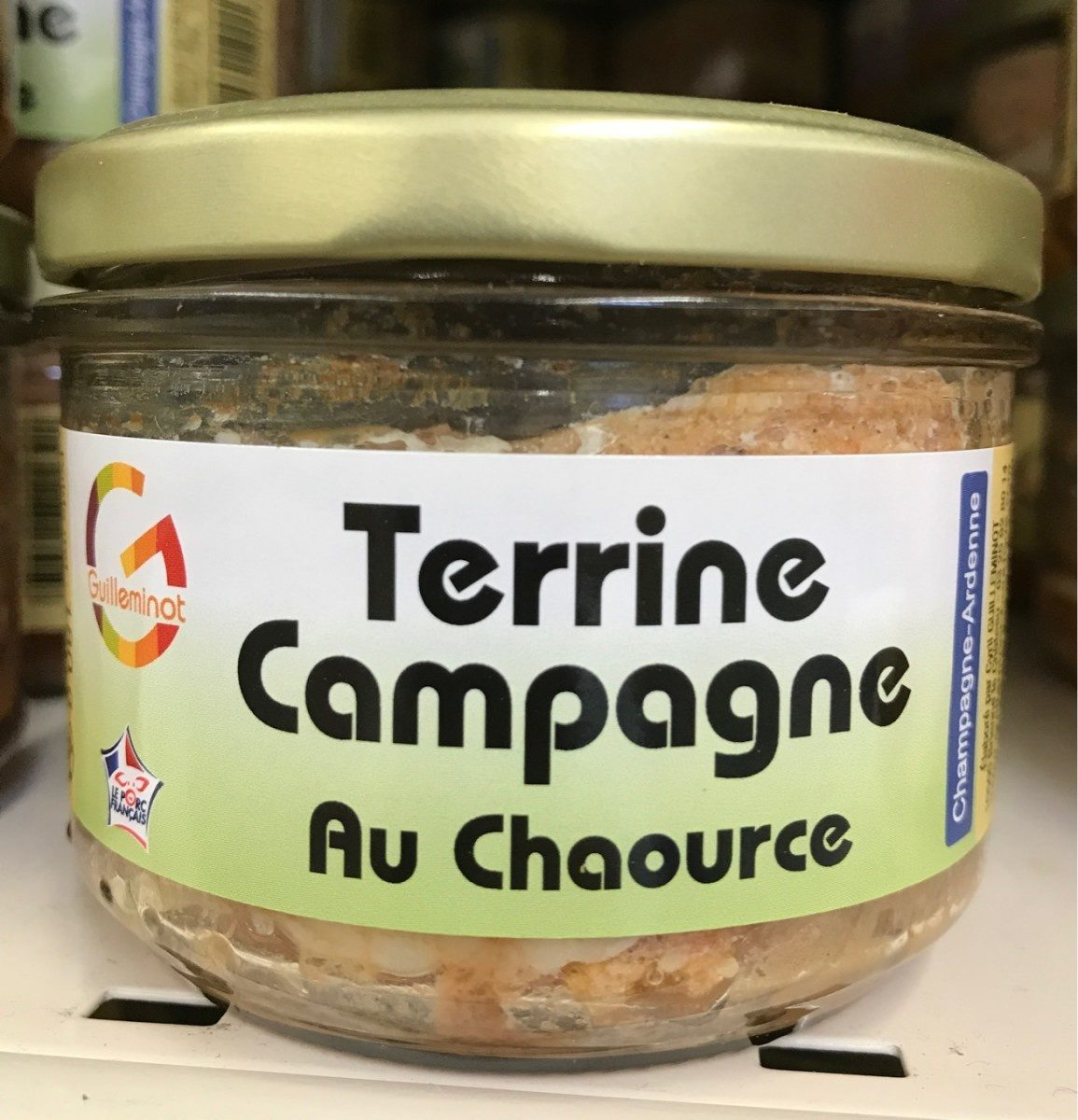 Terrine campagne au chaource - Produit - fr