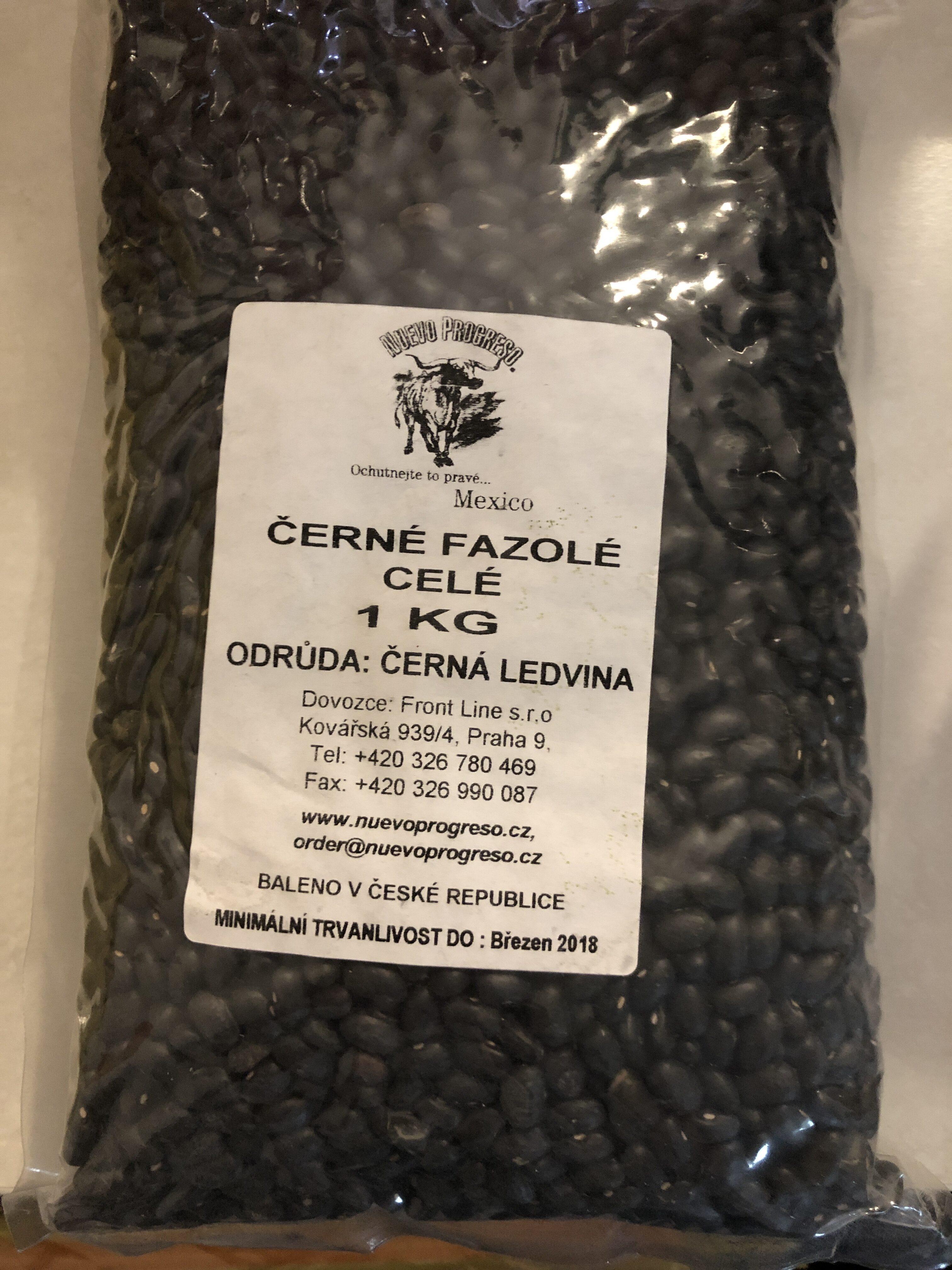 Černé fazolé - Product - en