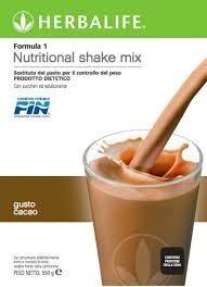 Formula 1 Ciocolat boisson nutritionnelle - Ingredienti - it