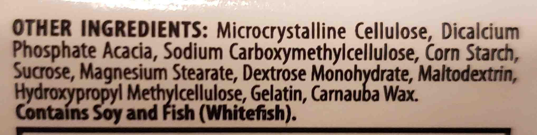 Nutrilite - Ingredients - en
