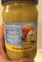 Compote pomme vanille - Product - fr