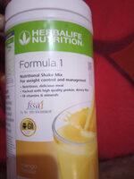 formula 1 banana cream - Product - en