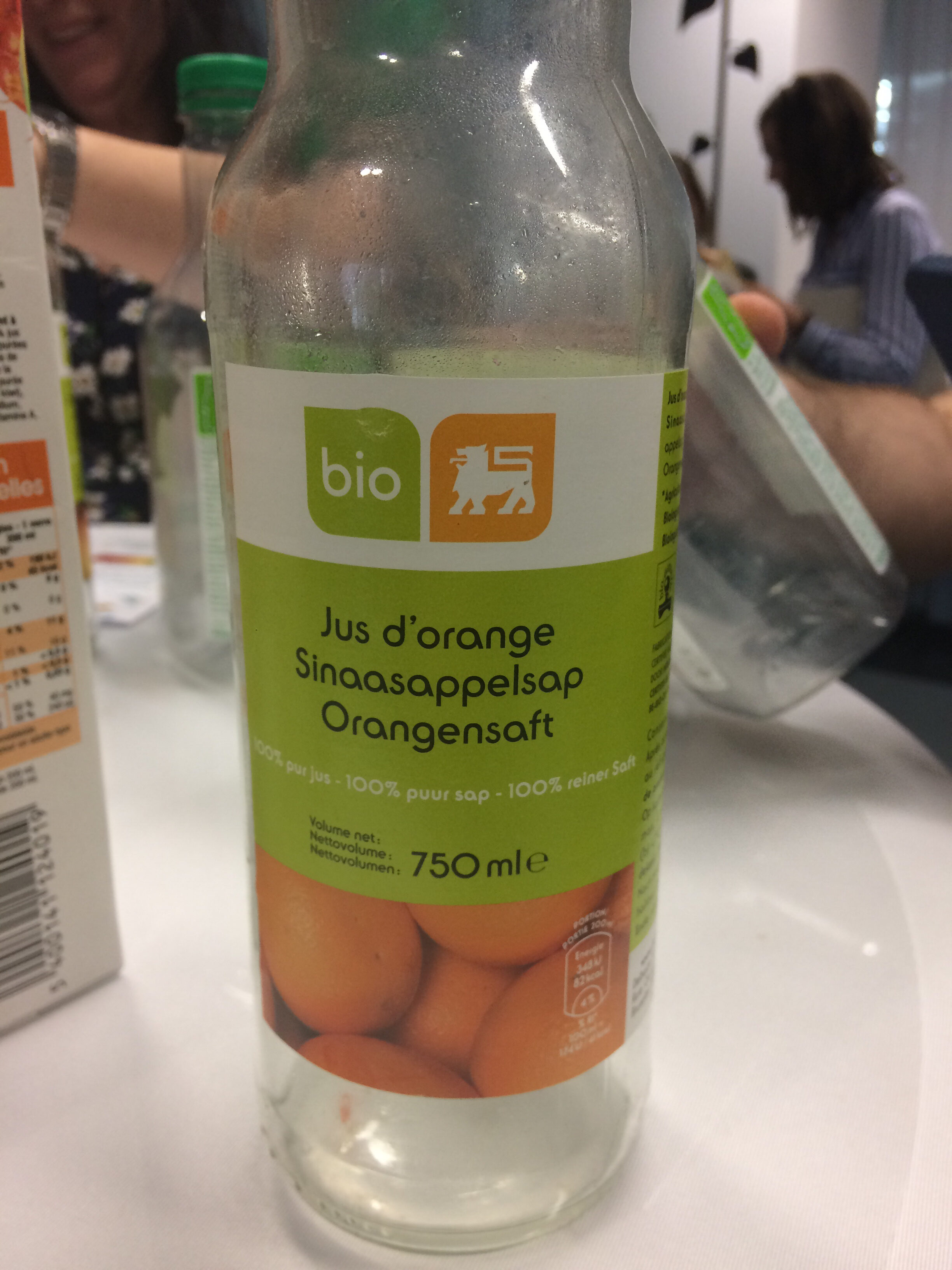 Jus d'orange bio delhaize - Product - fr