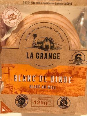 Blanc de dinde - glacé au miel - Product