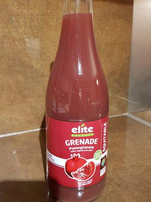 jus de grenade - Ingrédients - fr