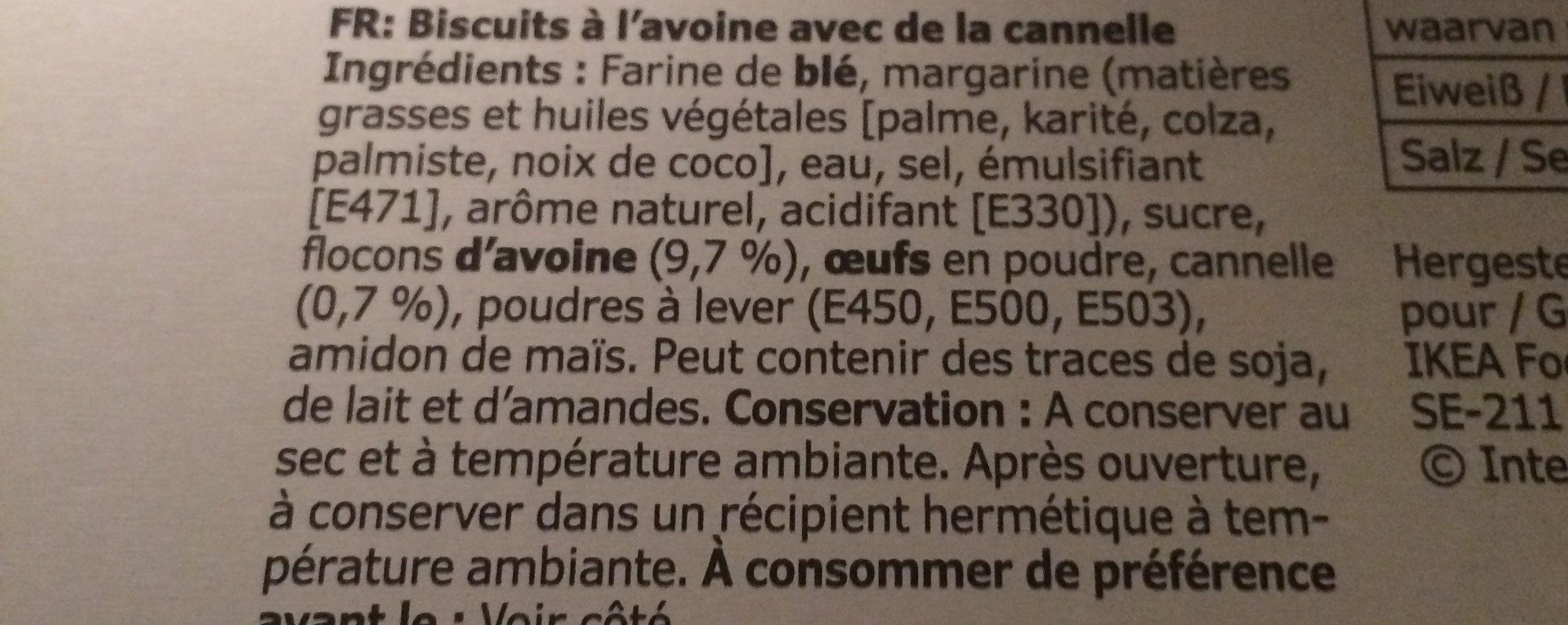 KAFFEREP - Ingredients - fr