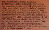 KAFFEREP - Ingredients - lt