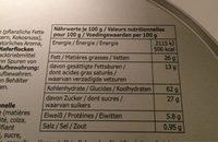 KAFFEREP - Nutrition facts - fr