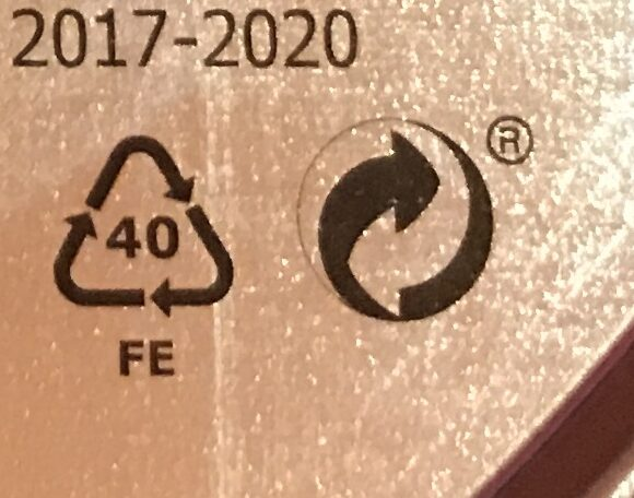 KAFFEREP - Recycling instructions and/or packaging information - cs