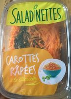 Carottes râpées à la ciboulette - Product - fr