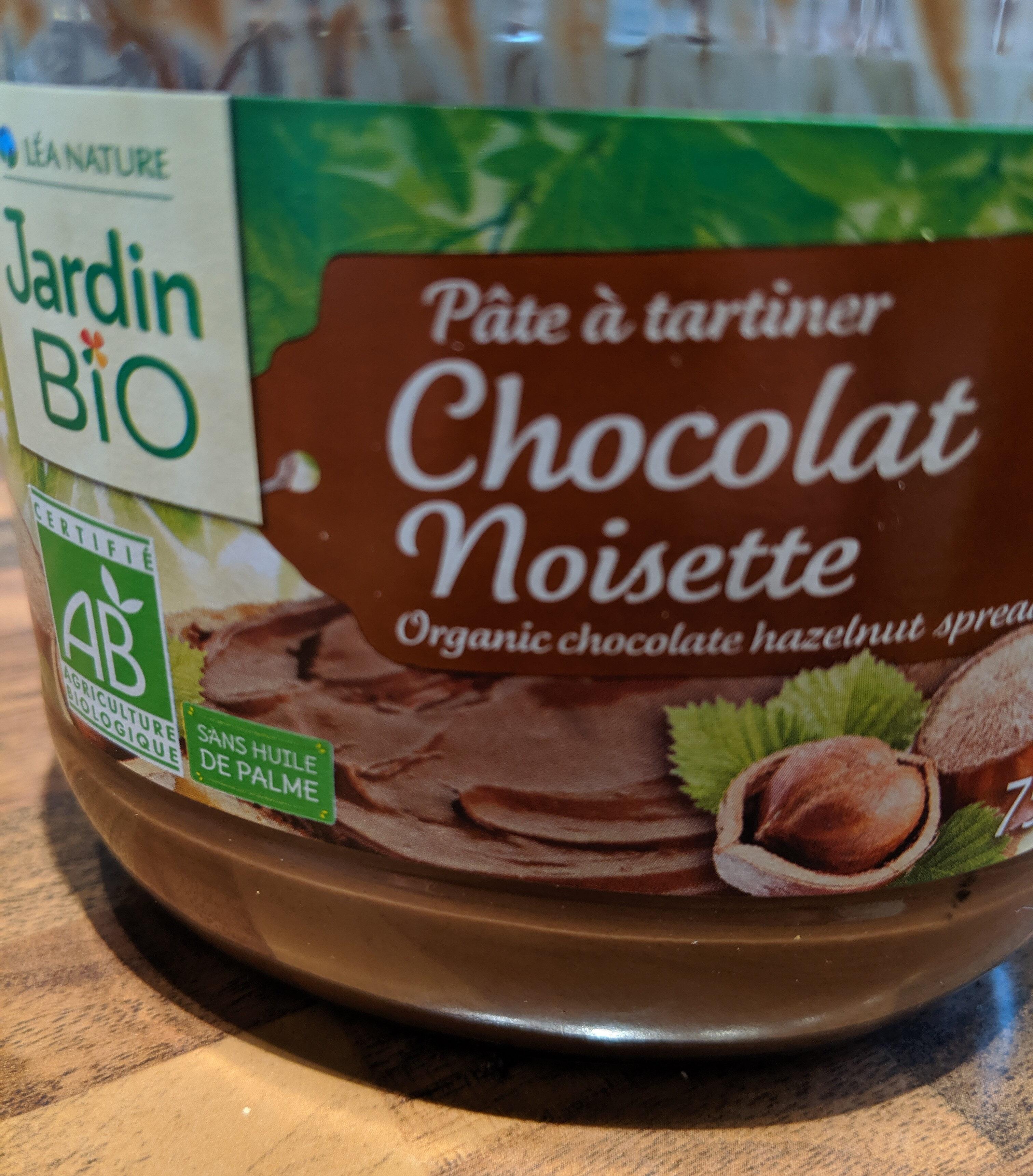 Pâte à tartiner chocolat noisette - Jardin bio - Product - fr