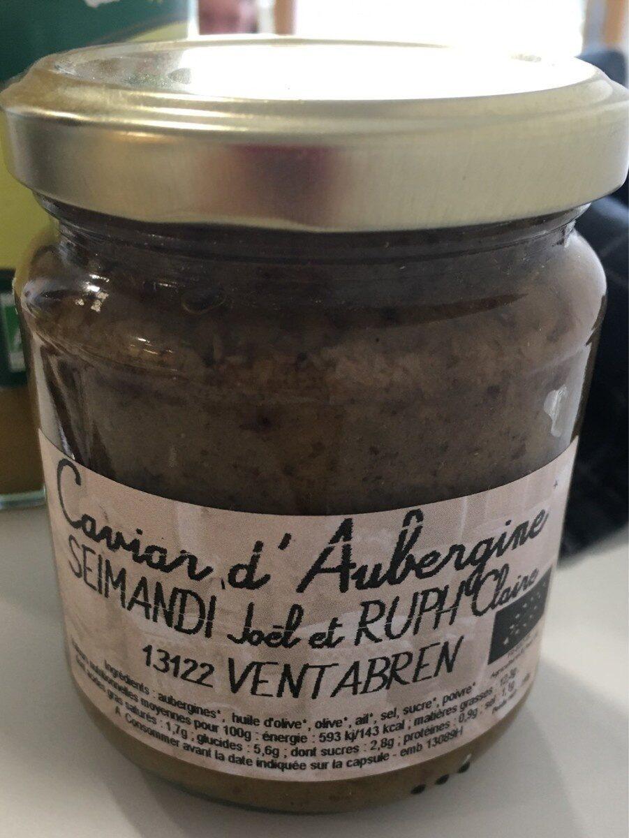 Caviar d'aubergines - Prodotto - fr