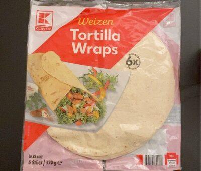 Weizen Tortilla Wraps - Prodotto - de
