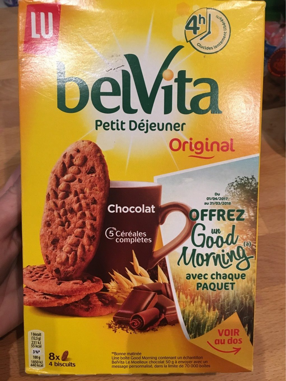 Belvita Petit Dejeuner Original - Produit - fr