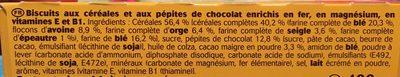 Belvita Petit Dejeuner Original - Ingrédients - fr